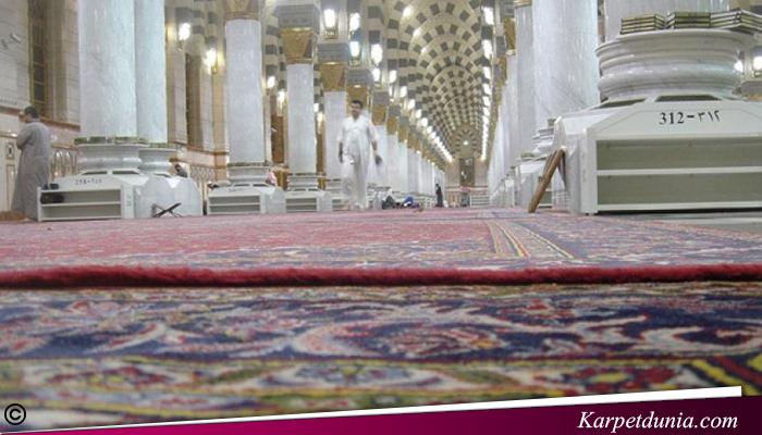 Dekorasi Lantai Menggunakan Karpet