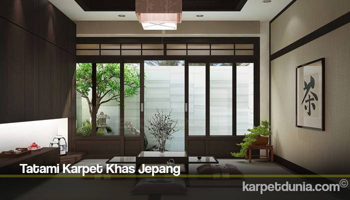 Tatami Karpet Khas Jepang