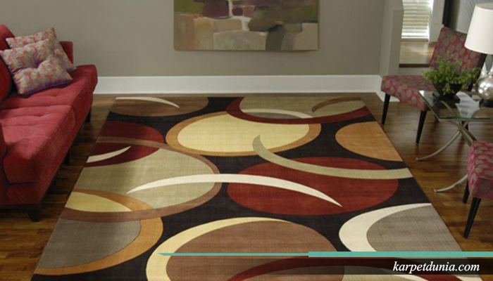 Karpet membuat ruangan menjadi lebih hidup