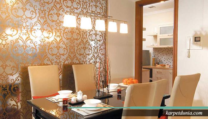Mendekorasi ruang makan menjadi elegant
