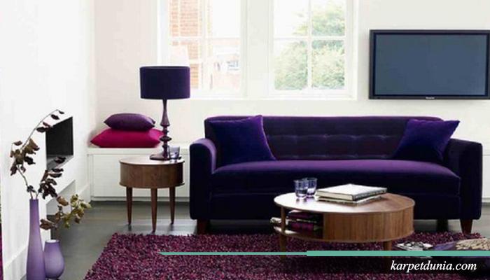 Sesuaikan karpet dengan ruanganmu