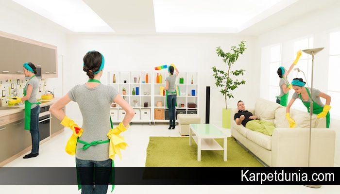Karpet Anda akan Tetap Bersih karena Kebiasaan ini